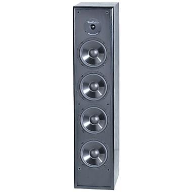 BIC America – Haut-parleur à 5 voies en colonne mince Venturi de 6,5 po, 200W, noir (BICDV64)