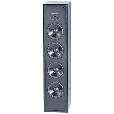 BIC America – Haut-parleur à 5 voies en colonne mince Venturi de 8 po, 250W, noir (BICDV84)