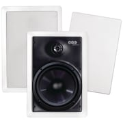 "BIC America™ M-PRO6W 6.5"" 2-Way In-Wall Speaker, 150 W, White"