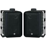 """BIC America™ RTR™ V44-2 4"""" 3 Way Indoor/Outdoor Speaker, 100 W, Black"""