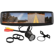 "Boss® BV430RVM 4.3"" Rearview Mirror With Monitor/Rearview Camera"