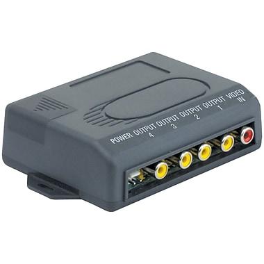 Boss – Amplificateur de signal à 4 sorties vidéo RCA (BOSBVAM5)