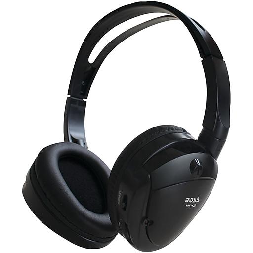 Boss® Wireless Over-Ear IR Headphone, Black