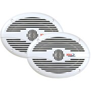"Boss® MR690 6"" x 9"" 2-Way Full-Range Marine Speaker, 350 W"