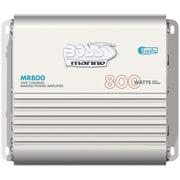 Boss – Amplificateur nautique pontable de classe A/B à gamme étendue MOSFET, 4 canaux, 800 W (BOSMR800)