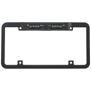 Boyo® VTL300CIR Night-Vision License Plate CMOS Camera With Parking Guide Lines CMOS Lens, Black