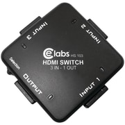 CE Labs® HS103 Auto HDMI Switcher with 3 Input/1 Output