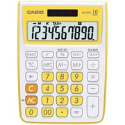 Casio® MS-10VC 10-Digit Standard Function Desktop Calculator, Yellow