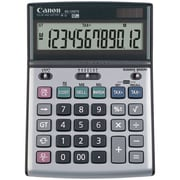Canon® BS-1200TS 12-Digit Solar And Battery-Powered Tilt Adjustable Calculator