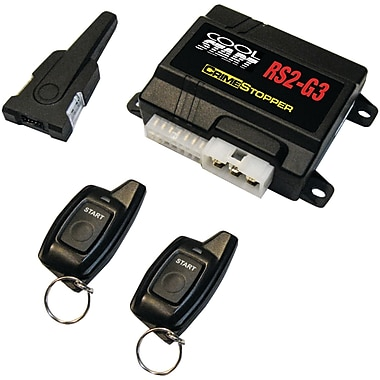 CrimeStopper 2 Way FM/FM LED 1 Button Remote Start System (CSPRS2G3)