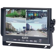 CrimeStopper SecurView™ SV-8900.QM.II LCD Car Monitor With Built-in Quad View, 7""