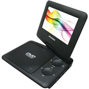 "Sylvania 7"" Swivel-Screen Portable DVD Player, Black"