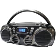 Sylvania SRCD682BT Bluetooth Portable CD Boom Box With AM/FM Radio, 6 W