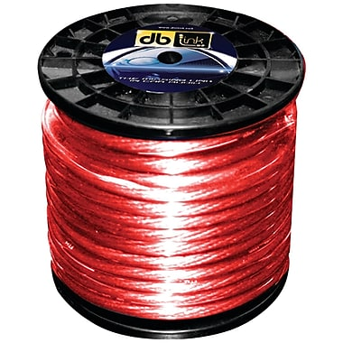 Db Link™ Power Series Power Wire, 8 Gauge, 250', Red
