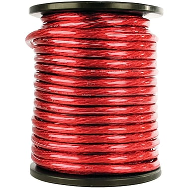 Db Link™ Elite Superflex Soft-Touch Power Wire, 0 Gauge, 50', Red