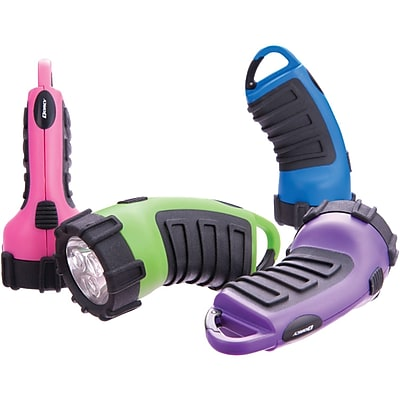 Dorcy® 29-Lumens 3-LED Carabiner Flashlight, Assorted, 5