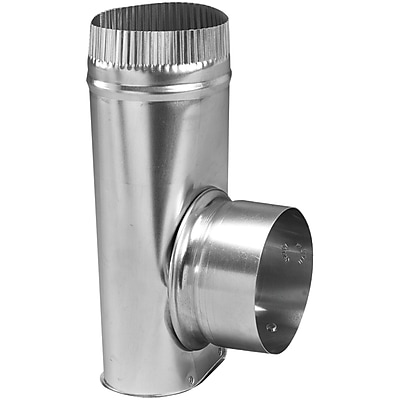 Deflecto® Aluminum Dryer Offset Connector, 4