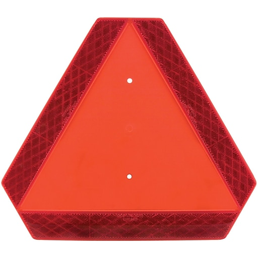 """Sate-Lite Slow-Moving Vehicle Triangle, 14"""" x 16"""""""