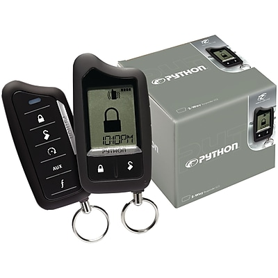 Python® Responder™ LC3 SST 2-Way Security System With Remote-Start, Black