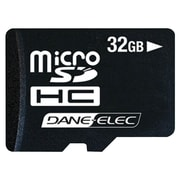 Dane-Elec microSD (micro Secure Digital) Class 4 Flash Memory Card, 32GB