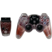DreamGEAR® DGPN-525 Lava Glow Wireless Gaming Controller, PlayStation® 2, Red