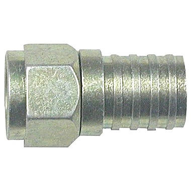 Eagle 500285 RG6 Zinc-Plated Connector with O-Ring and Gel