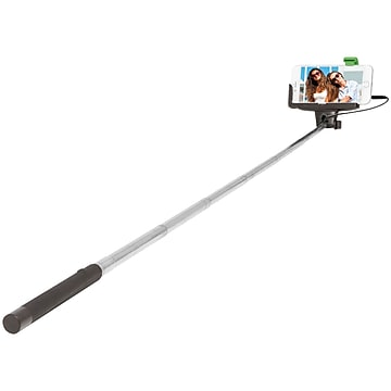 ReTrak™ ETSELFIEW for iPhone 4/5/5s/6 & Samsung Galaxy S III/4 Selfie Stick with Wired Shutter