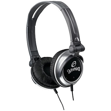 Gemini® On-Ear Professional DJ Headphones, Black