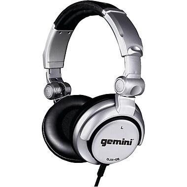 Gemini® Over-Ear Professional DJ Headphones, Silver