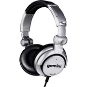 Gemini® Over-Ear Professional DJ Headphones, Silver