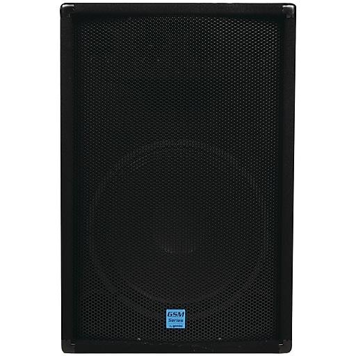 """Gemini® GSM Series 15"""" Passive Loudspeaker, 700 W, Black"""