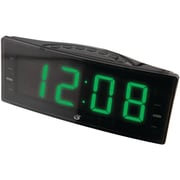 GPX C353B Digital AM/FM Dual Alarm Clock Radio, Black