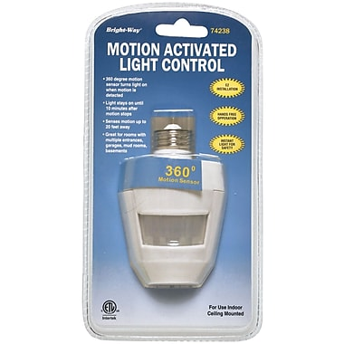 Bright Way Motion-Activated Indoor Light, 360 deg