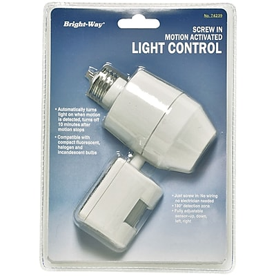 Bright Way Motion-Activated Indoor Light, 180 deg