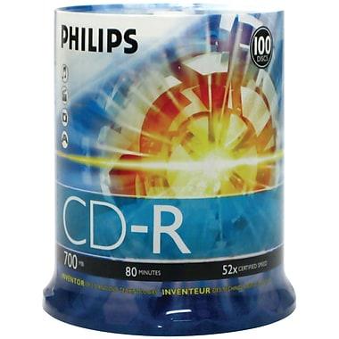 Philips CDR80D52N/650 700MB 80-Min 52x CD-Rs