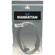 Manhattan 15' Hi-Speed USB 2.0 Male/Female Extension Cable, Translucent (ICI340502)