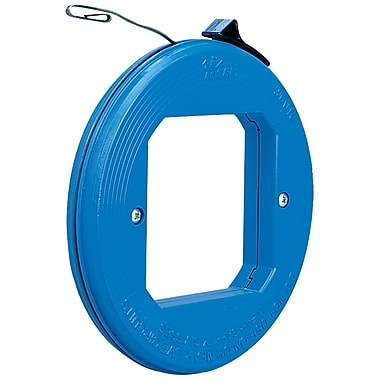 IDEAL® 50' Blued Steel Thumb-Winder™ Fish Replacement Tape With Case