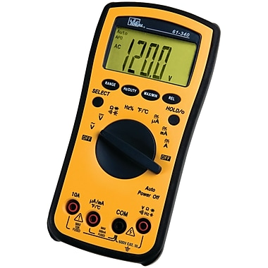 IDEAL® 340 Series CAT III 600 V Test-Pro® Multimeter