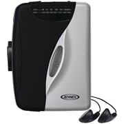Jensen® Portable Stereo Cassette Player with AM/FM Radio SCR-68B