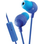 JVC Marshmallow® In-Ear Earbud With Microphone And Remote, Blue