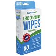 Shieldme® Lens Cleaning Wipes, 80/Pack