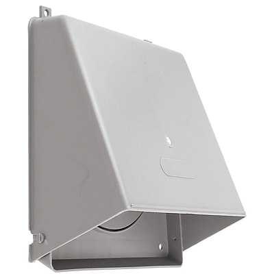 Lambro® Plastic Wall Cap Damper, Gray, 6