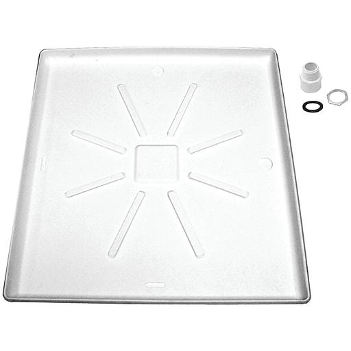 """Lambro® Standard Washing Machine Tray, 29"""" x 31"""""""