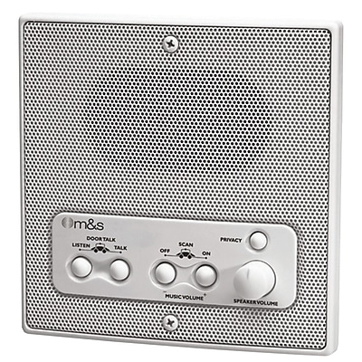M&S Systems® Weather-Resistant Remote Station Speaker
