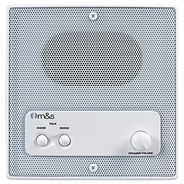 M&S Systems® Indoor Intercom Speaker