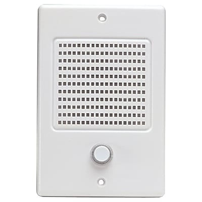 M&S Systems® Intercom Door Speaker With Bell Button