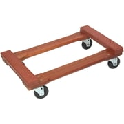 Monster Trucks 4-Wheel Piano Wooden Rubber Cap Dolly (MT10002)