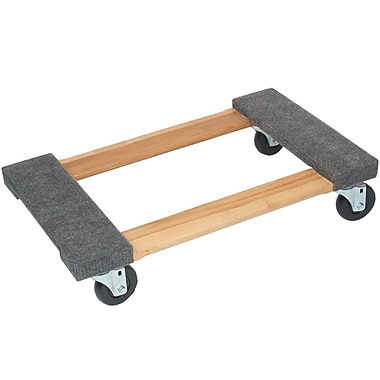Monster Trucks® 4-Wheel Piano Wooden Carpeted Dolly