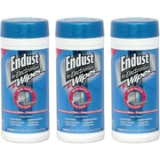 Endust® Multi-Surface Pre-Moistened Anti-Static Pop-Up Wipes Kit, 70/Carton
