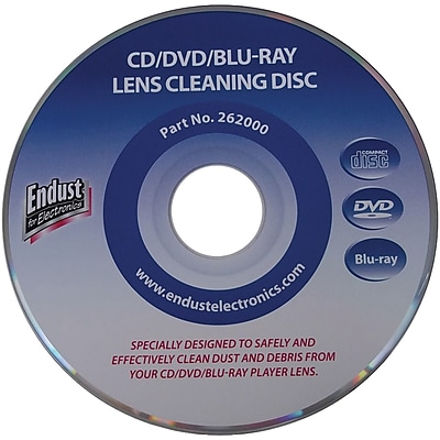 Endust CD/DVD/Blu-Ray Disc/Game Console Lens Cleaner 1595231